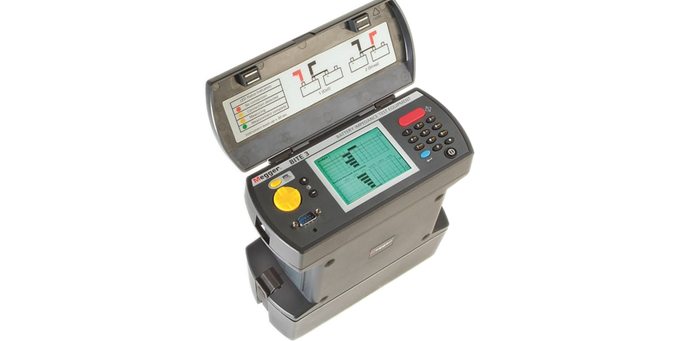 Battery Impedance Tester : Substation testing monitoring equipment in