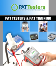 Reguest PAT Testers Brochure