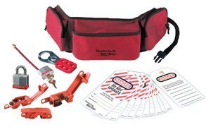 Masterlock Portable Lockout Pouch – Electrical