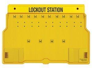 Master Lock 1483B Lockout Station (10 locks) – Unfilled