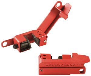 Masterlock Wide Grip Tight Circuit Breaker Lockout