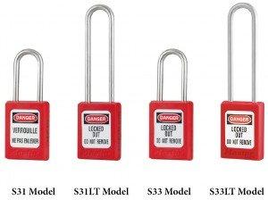 Masterlock S31 S31LT S33 S33LT Padlocks