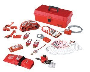 Masterlock Personal Lockout Kit - Valves & Electrical