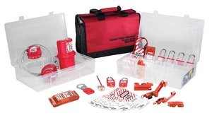 Masterlock Portable Safety Organiser - Electrical