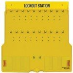 Master Lock 1484B Lockout Station (20 locks) - Unfilled