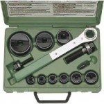 Greenlee Slug-Buster Hole Punch Set ISO 16-63