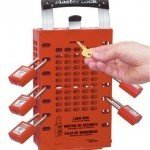 Dual Application Group Lock Box - Red