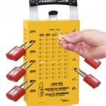 Dual Application Group Lock Box - Yellow