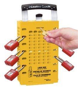 Dual Application Group Lock Box - Yellow