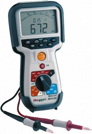 Megger MIT430 (Bluetooth) Insulation & Continuity Tester