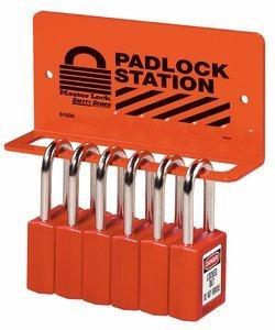 Heavy Duty Steel Padlock Rack