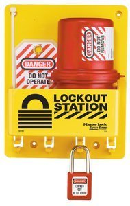 Compact Lockout Station with Plug Lockout