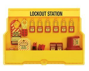 Lockout Station (Electrical Lockout, 6 locks)