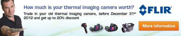 FLIR Thermal Imager Trade-in Campaign 2012