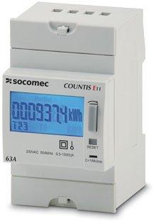 Socomec COUNTIS E10/E11/E12 Energy Meter