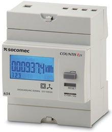 Socomec COUNTIS E20/E21 Energy Meter