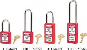 Masterlock 410 410LT 411 411LT Padlocks