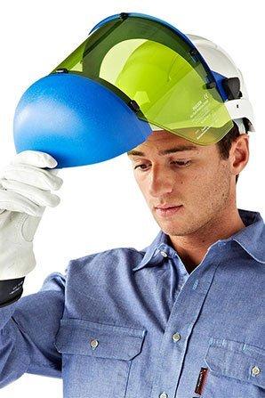 Arc Rated Helmet and Visor 12 cal/cm²