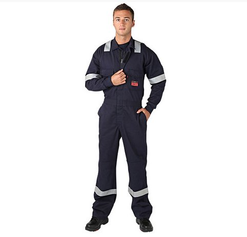 Survive Arc Coverall – Navy + Reflective Tape 12.4cal/cm²
