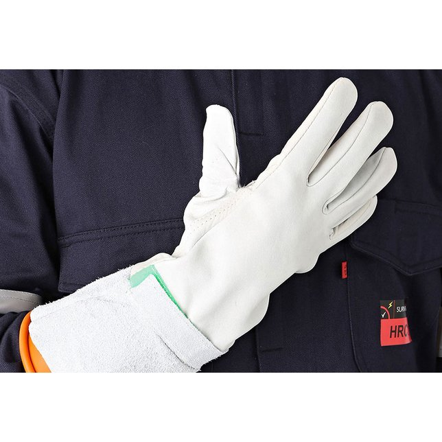 Arc Flash Leather Over Gloves
