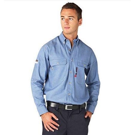 Arc Flash Shirt – Chambray 8.3 cal/cm²