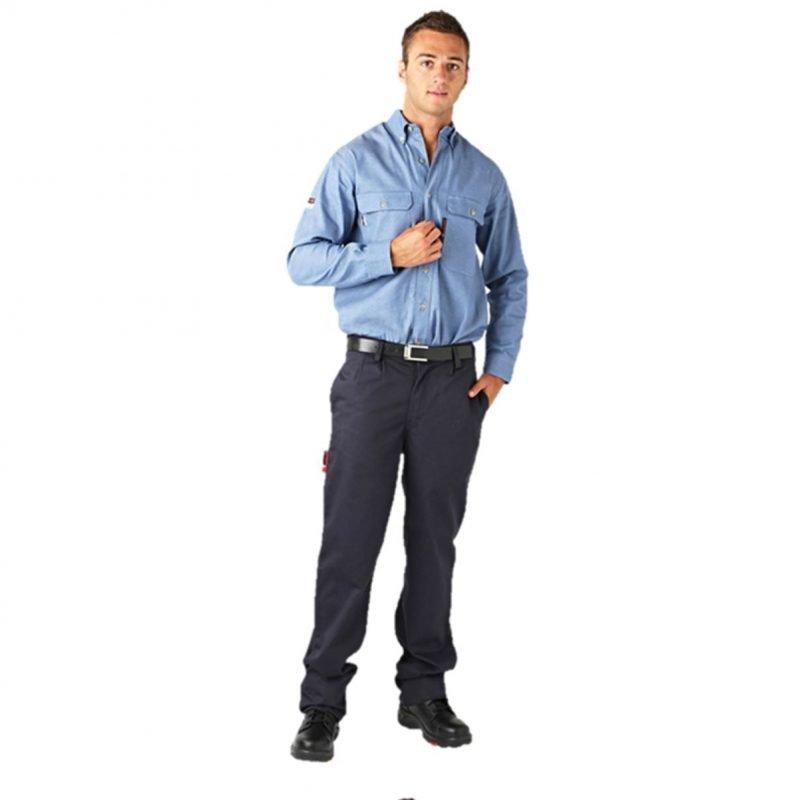 Arc Flash Anti-Static Chino Trousers, 12.5 cal/cm²