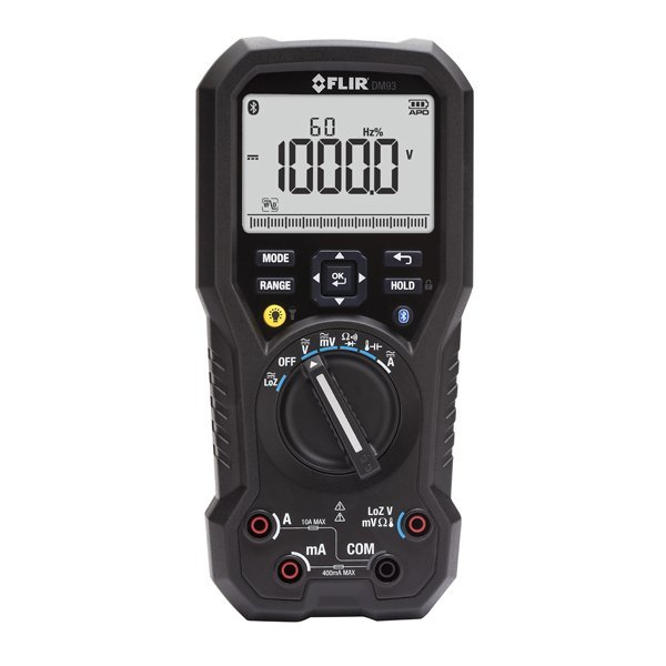 FLIR DM93 True RMS Industrial Multimeter with VFD Mode