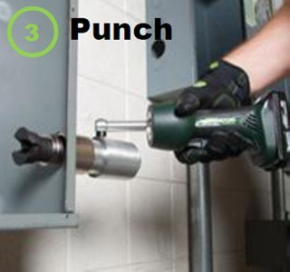 Punch hole. Save time and money every punch!