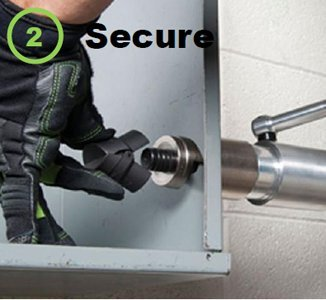 Secure Speed Lock onto draw stud.