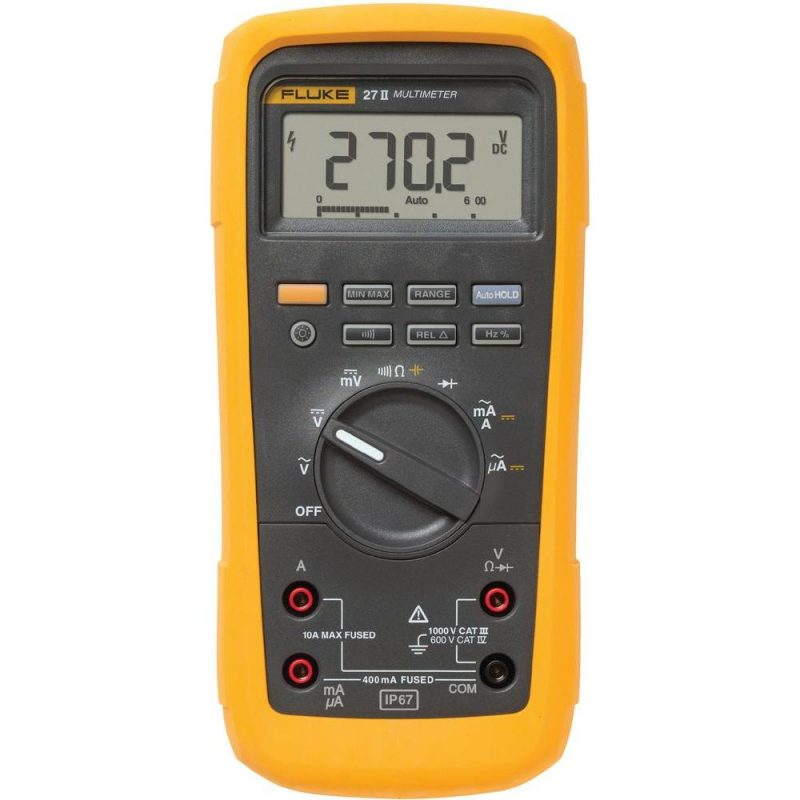 Fluke 27 II Industrial Multimeter