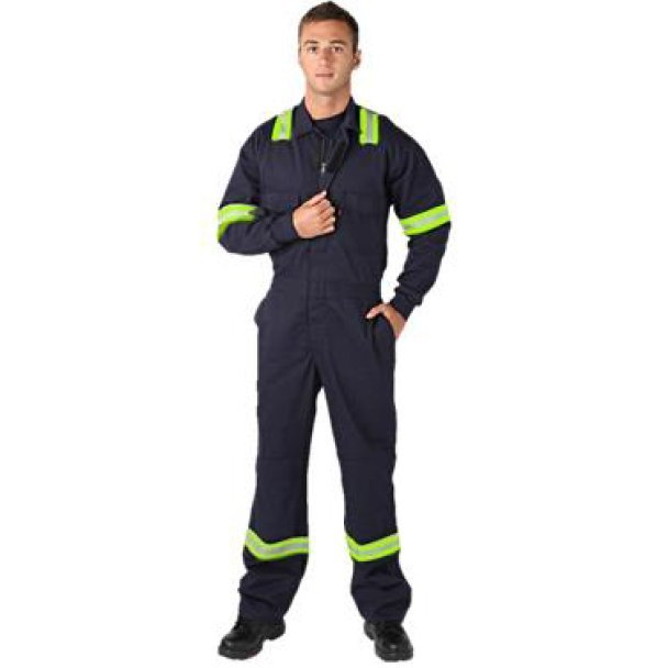 Arc Flash Coverall, Anti-Static, 12.4 cal/cm²