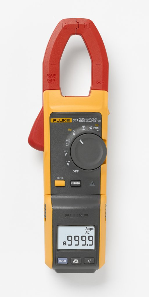 Fluke 381 Remote Display True-rms AC/DC Clamp Meter and iFlex™