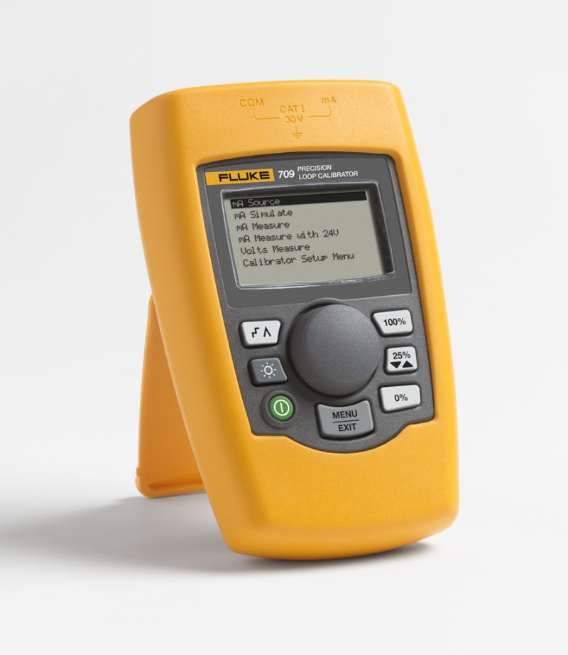 Fluke 709H Precision Loop Calibrator with HART Communications/Diagnostics