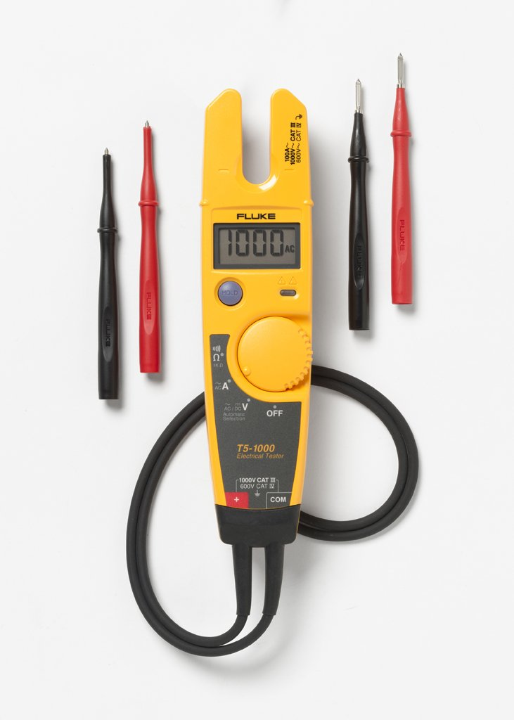 Fluke T5-1000 Continuity, Current and Non Contact Voltage Tester