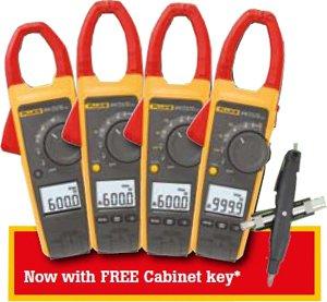 FLUKE-37X + Free Multifunction-CabinetKey-Screwdriver