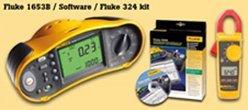 Fluke 1653B + Software + Fluke 324