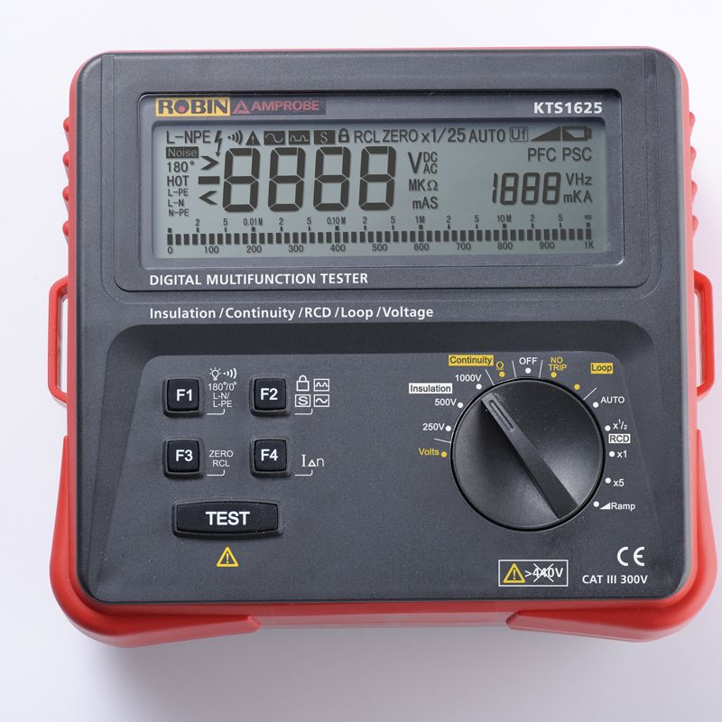 Beha-Amprobe KTS1625 – Digital Multifunction Tester