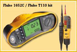Fluke 1652 + Fluke 110 TPOLE Tester