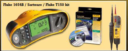 Fluke 1654 + Software + Fluke 150 TPOLE tester