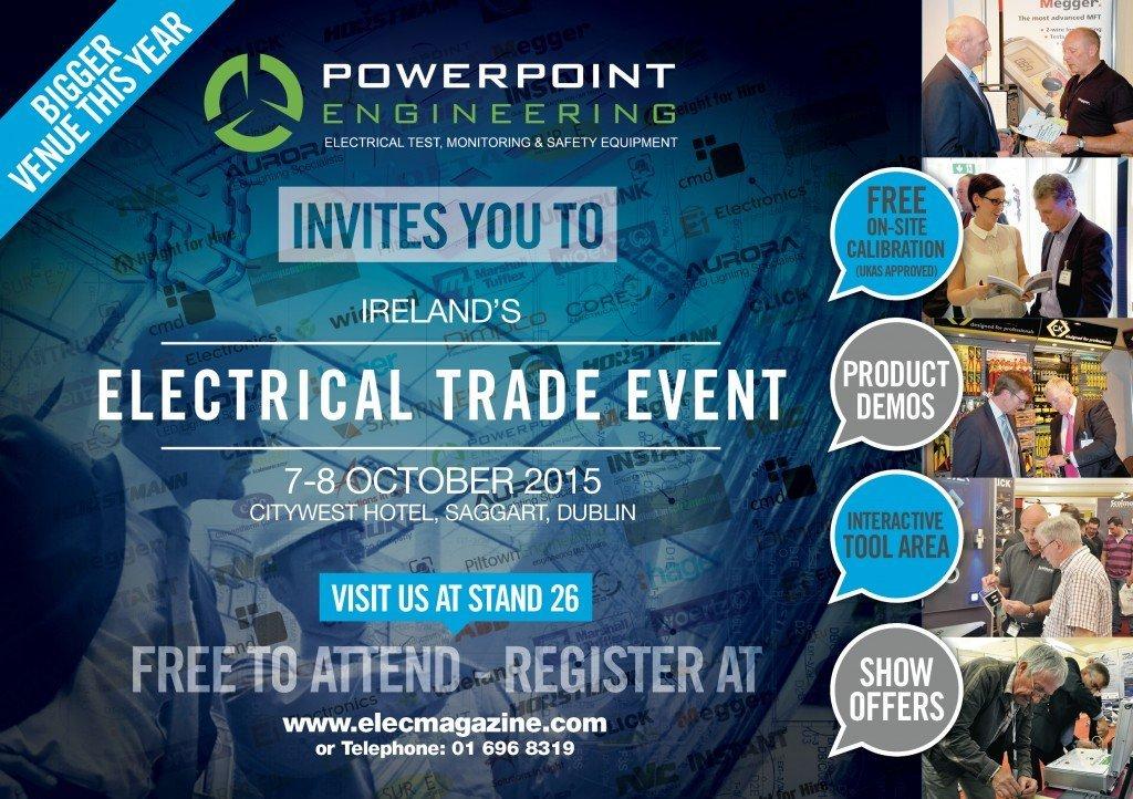 Irelands Electrical Trade Event 2015