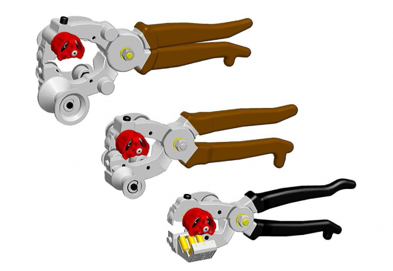 Sheath Pliers with 3-pos Head