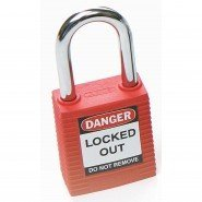 ABUS Safety Padlock With Steel Shackle