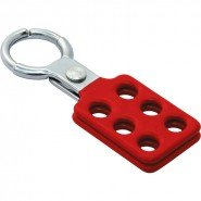 Lockout Safety Aluminium Lockout Hasp (25 mm diameter)