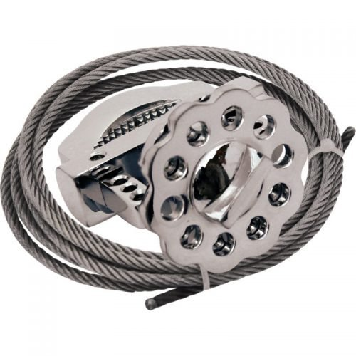 Lockout Safety 2 mtrs SS Cable for Metallic Multipurpose Cable Lockout