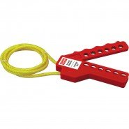 Lockout Safety Adjustable Cable Lockout Non Conductive (up to 1.00m)