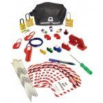 Lockout Safety Circuit Breaker Lockout Kit (Pouch)