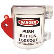 Lockout Safety Cocoon: Oversize Push Button Lockout