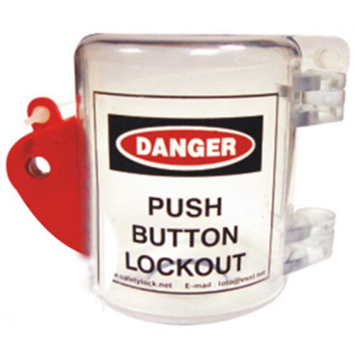 Lockout Safety Cocoon Oversize Push Button Lockout