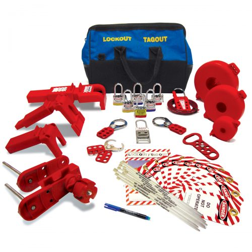 Lockout Safety Group Valve Lockout Kit