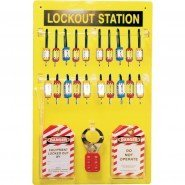 Lockout Safety Lockout Station